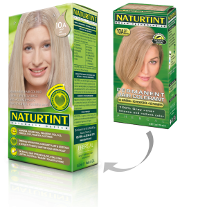 NATURTINT - 10A - Light Ash Blond- Permanent  Hair Colourant