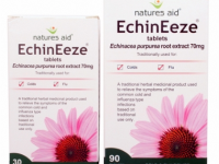 Natures Aid - Echinacea Root Extract 70mg (EchinEeze)- 30 Tabs