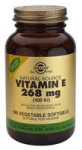 Solgar - Vitamin E 268mg (400iu) (100 Vegetarian Softgels)