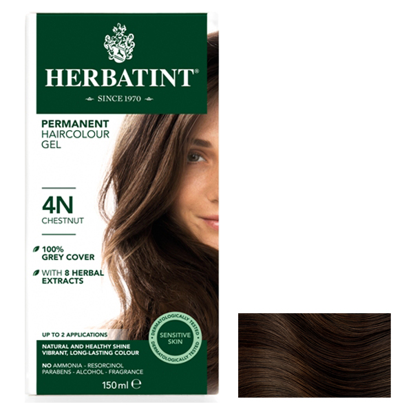 HERBATINT - Chestnut 4N - 150ml