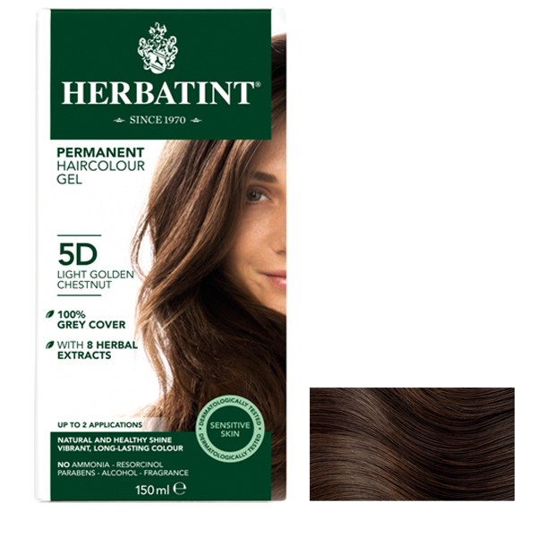 HERBATINT - Light Golden Chestnut  5D - 150ml