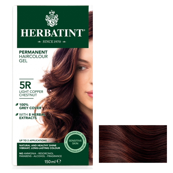 HERBATINT - Light Copper Chestnut  5R - 150ml