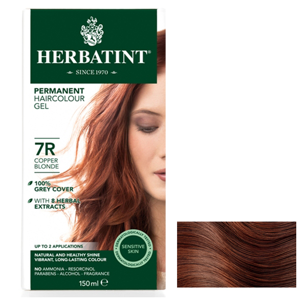 HERBATINT - Copper Blonde 7R - 150ml