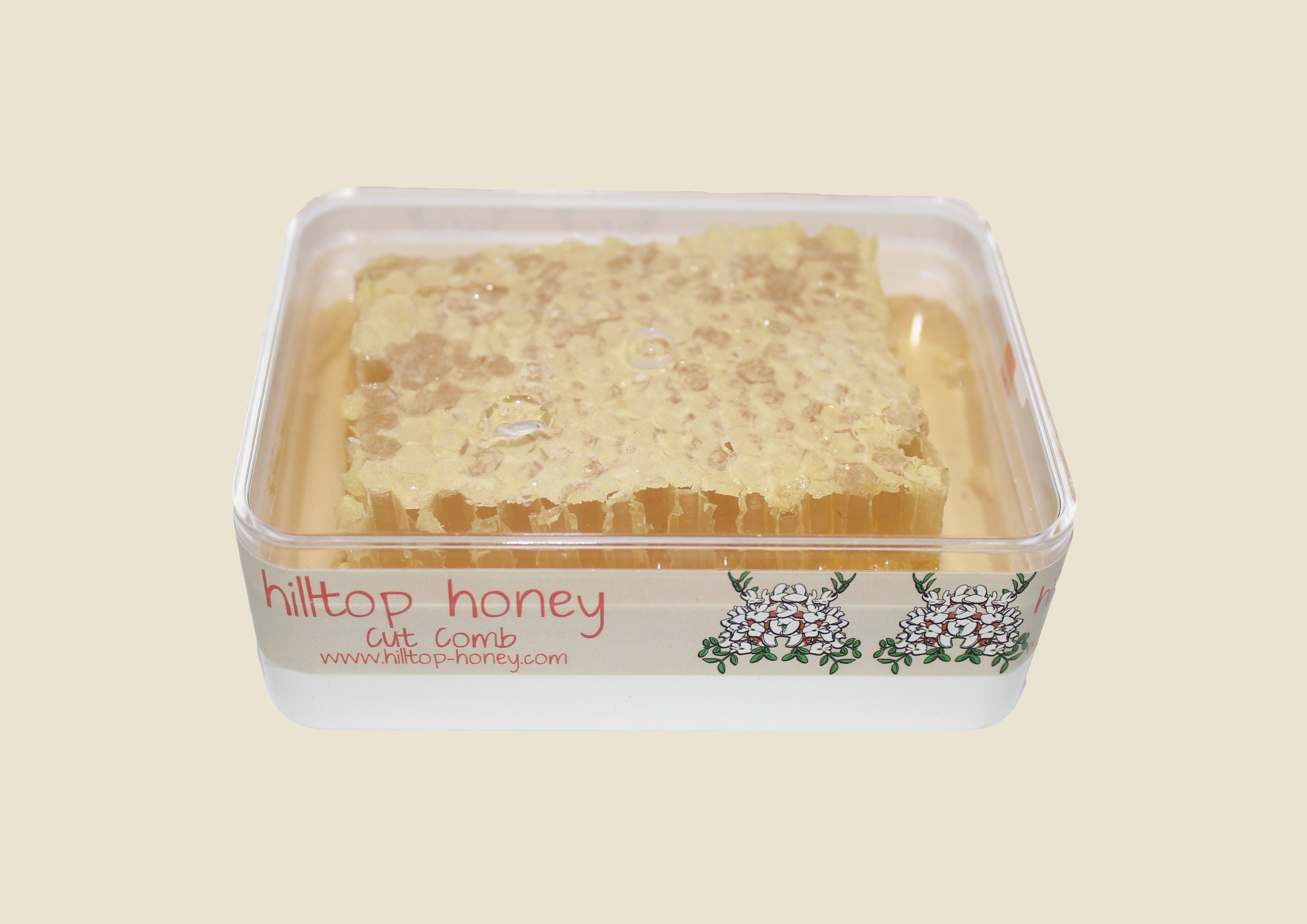 Hilltop Honey - Cut Comb Slab (400g)