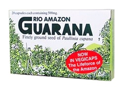 Rio Trading - Guarana 500mg (20 Caps)