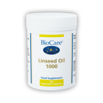 BioCare - Linseed oil 1000mg (flaxseed oil)  Gel caps (90)