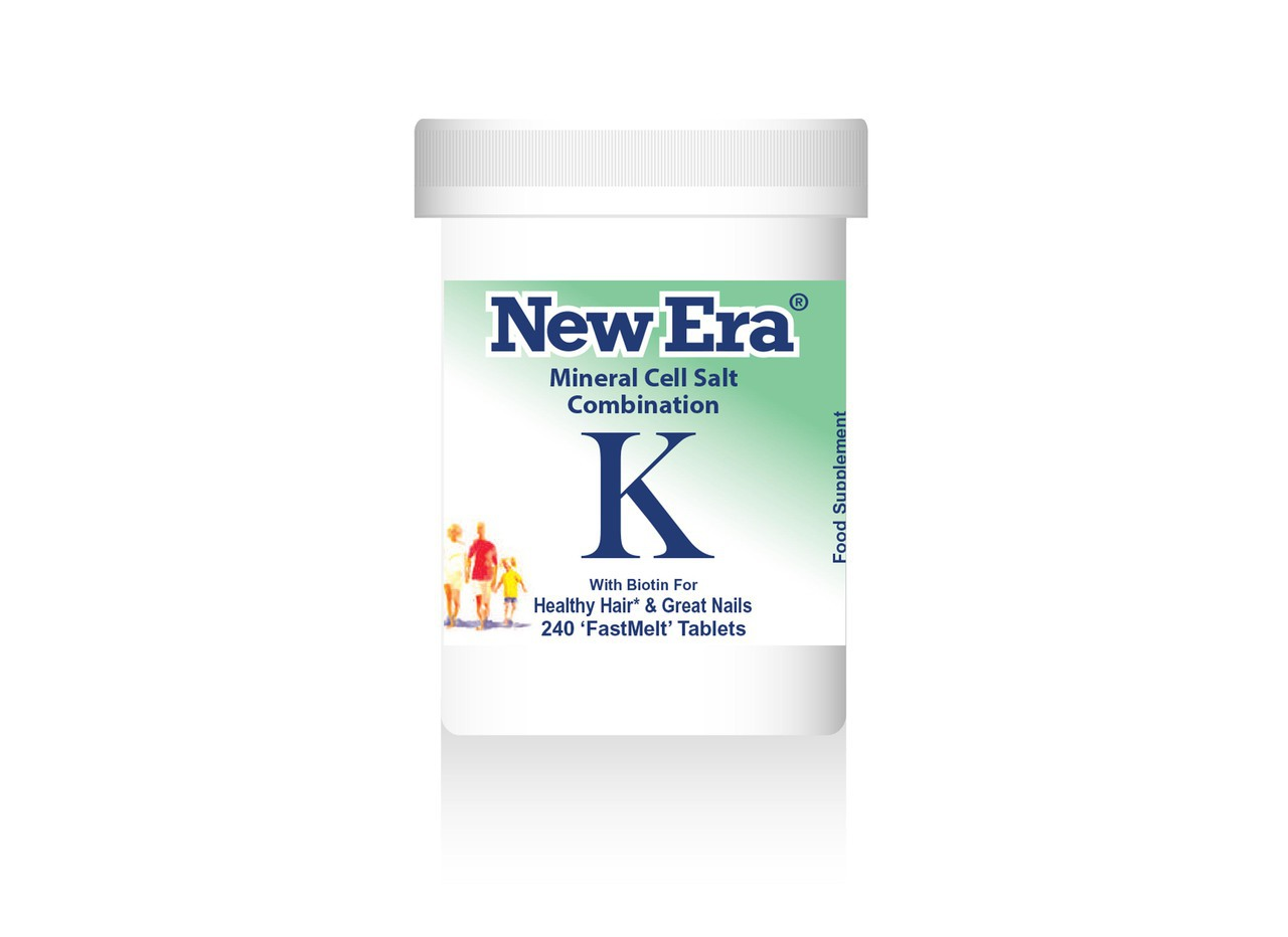 New Era - Combination K (240 Tablets ) For Falling Hair & Weak Nails