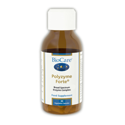 BioCare - Polyzyme forte (high potency broad spectrum digestive enzymes)  Veg caps (60)