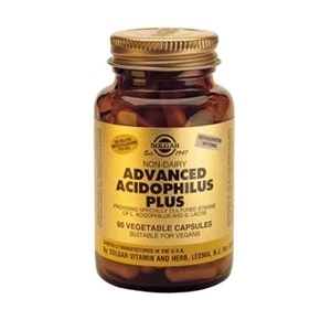 Solgar - Advanced Acidophilus Plus (60 Vegicaps) - Probiotics