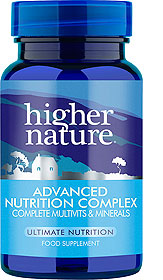 Higher Nature - Advanced Nutrition Complex (High potency multivitamin/mineral) -30 tabs