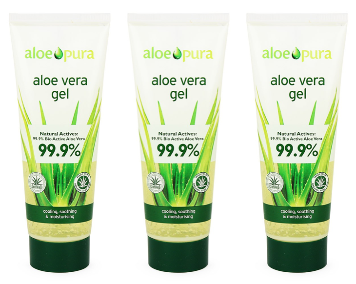 Aloe Pura - Aloe Vera Gel 100ml (Pack of 3)