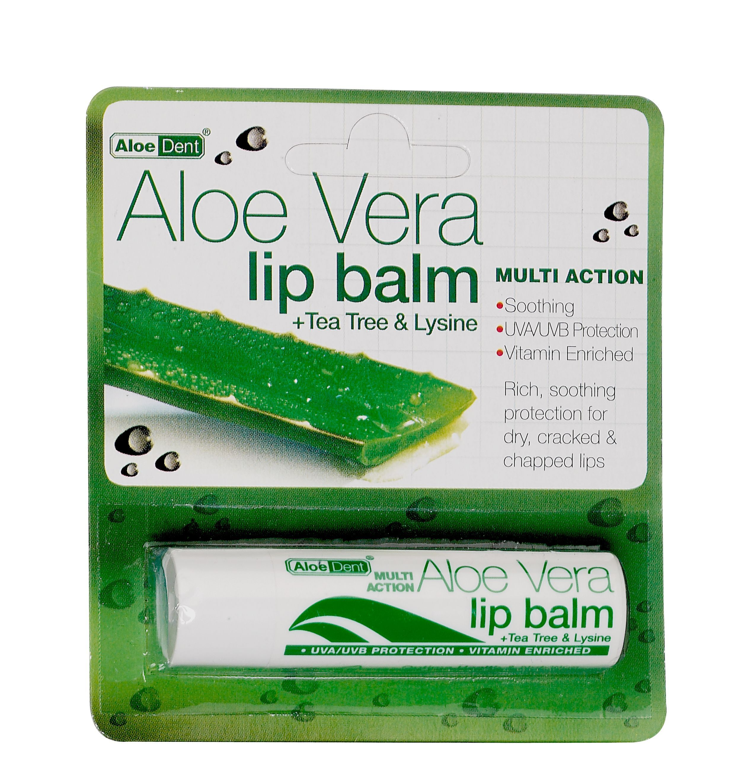 Aloe Vera Lip Balm 4g Rich Soothing Protection For