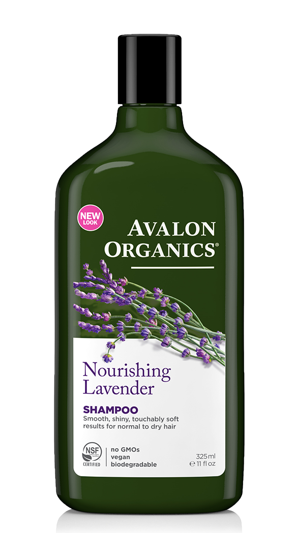Avalon Organics - Nourishing Lavender Shampoo (11 oz/325 ml)