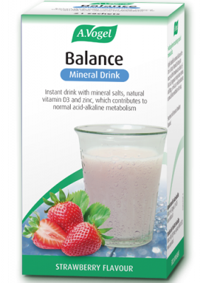 A Vogel - Balance Mineral Drink (Strawberry Flavour) - 7 x 5.5g Sachets