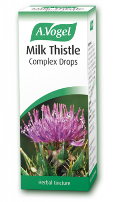 A Vogel - Milk Thistle Complex (100ml) - Liver Tonic, Detox, eg. Hangovers, Fat Metabolism, Psoriasis