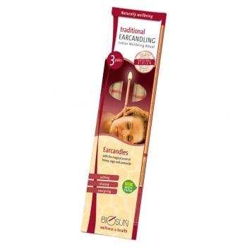 Biosun - Hopi Ear Candles (3 PAIRS) - One pack has 6 ear candles