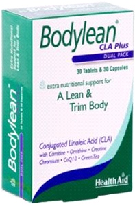 Health aid - Bodylean™ CLA Plus - 30 Tablets + 30 Capsules