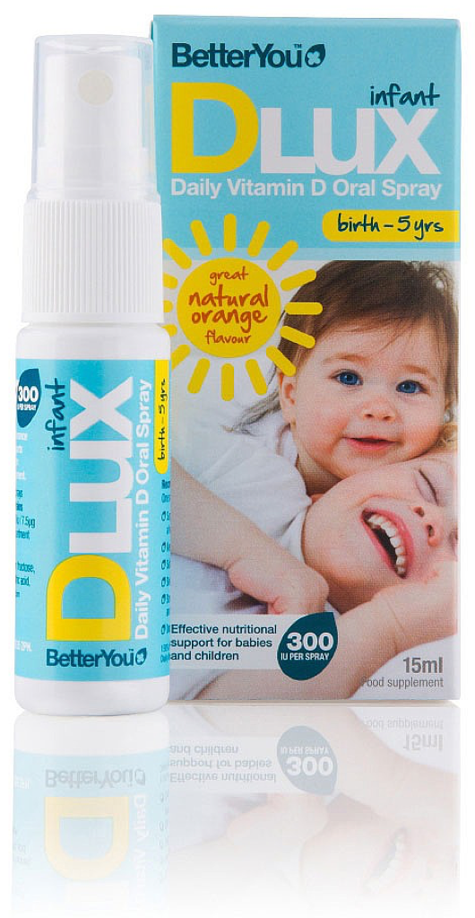 BetterYou - DLux Infant Daily Vitamin D Oral Spray (15ml)