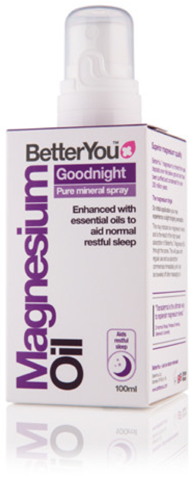 BetterYou - Magnesium Oil GoodNight Spray (100ml) - Helps restore normal sleep patterns