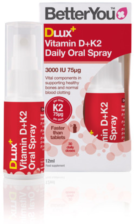 BetterYou - DLux+ Vitamin D+K2 Spray (12ml)