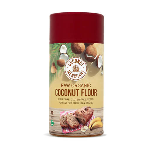 Coconut Merchant - Raw Organic Coconut Flour (500g)