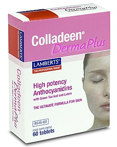 LAMBERTS - Colladeen Derma Plus (High Potency Anthocyanidins) -60 tabs