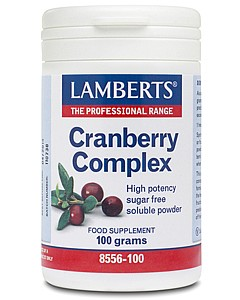 LAMBERTS - Cranberry Complex Powder (With FOS and Vitamin C) 100g Pdr