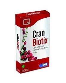 Quest - Cran Biotix ( 30 Veg. Capsules ) Combines Cranberry extract with a blend of lactobacilli bacteria.