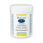 BioCare - MicroCell essential fatty acids (linseed oil and GLA)  Veg caps (120)