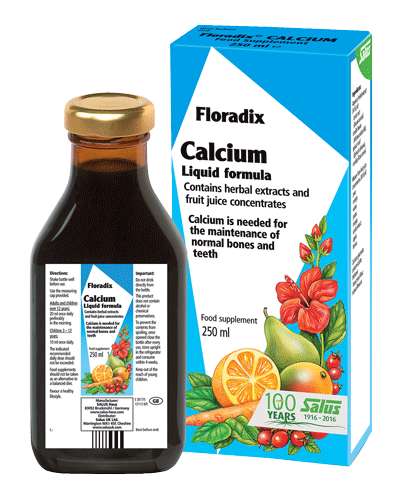 Floradix - Floradix CALCIUM Liquid Formula (250ml) - Essential for strong bones and teeth