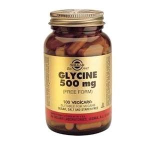 Solgar - Glycine 500mg (100 Vegicaps)