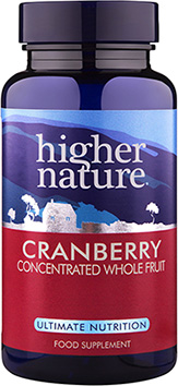 Higher Nature - Cranberry (30 Veg Caps)
