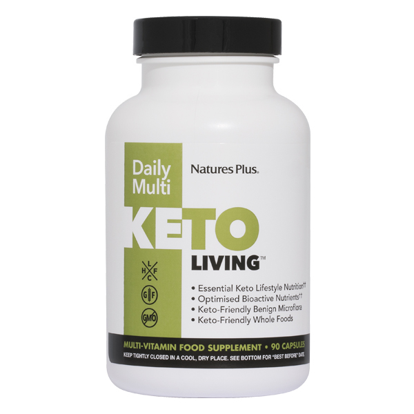 Natures Plus - KetoLiving™ Daily Multi (90 Capsules)