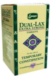 Lanes - Dual-Lax Extra Strong PL (100 tabs)