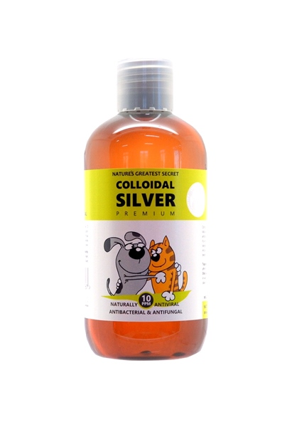Nature's Greatest Secret - 10 ppm Colloidal Silver Solution for Pets (250ml)