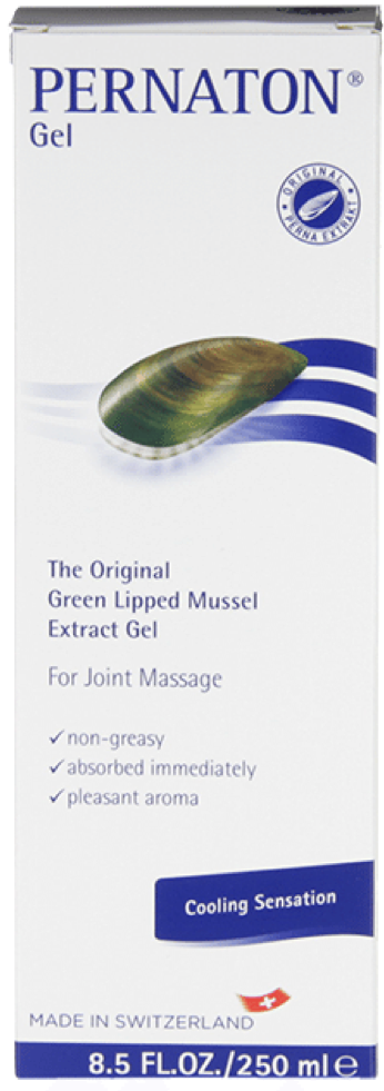 Pernaton - Pernaton Green Lipped Mussel Gel (250ml Tube) - For connective tissue and joint care
