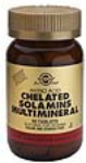 Solgar - Solamins (High Potency Chelated Multi Minerals) (90 Tabs)