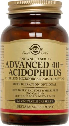 Solgar - Advanced 40+ Acidophilus (60 Veg Caps)