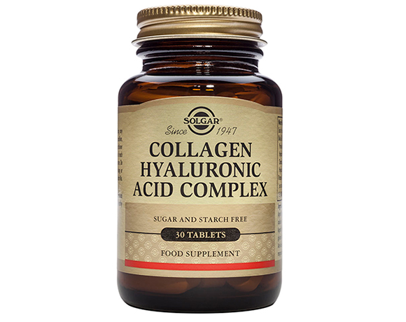 Solgar - Collagen Hyaluronic Acid Complex (30 Tabs)