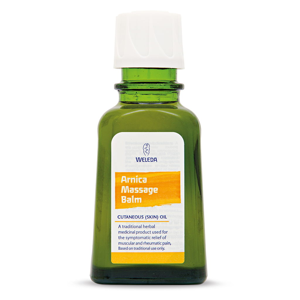 Weleda - Arnica Massage Balm (50ml) - For muscular pain, stiffness and bruises.