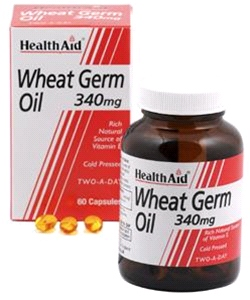 Health aid - Wheat Germ Oil 340mg (60 Caps)