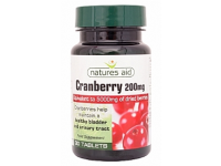 Cranberry - 200mg (Equivalent to 5000mg fresh cranberries)- 30 Tabs