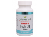 Fish Oil 500mg (Omega-3)- 180 Capsules