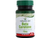 Beta Carotene (Natural) - 15mg (30 Softgels)