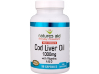 Cod Liver Oil (High Strength) - 1000mg (180 Softgels)