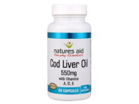 Cod Liver Oil-550mg (90 Softgels)