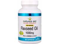 Flaxseed Oil 1000mg (Omega 3, 6 + 9)- 90 Capsules