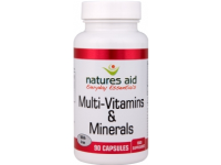 Multi-Vitamins & Minerals with Iron- 90 Caps