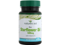 Starflower Oil 500mg (with Vitamin E) - 30 Softgels