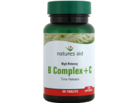 Vitamin B Complex + C High Potency (with Vitamin C) - 30 Tabs